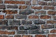 Beschaffenheit der alten Wand des roten Backsteins Lizenzfreie Stockfotografie