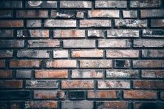 Beschaffenheit der Backsteinmauer lizenzfreie stockbilder