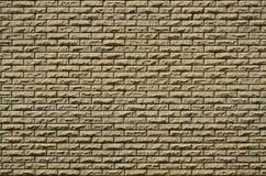 Beschaffenheit der Backsteinmauer von den Entlastungssteinen unter hellem sunligh Stockfoto