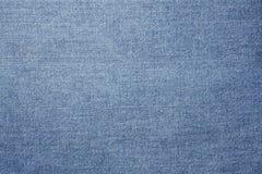 Beschaffenheit der Blue Jeans. Stockfotografie