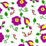 Beschaffenheit der Blumen Lizenzfreies Stockbild