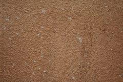 Beschaffenheit der braunen Betonmauer Lizenzfreie Stockbilder