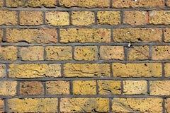 Beschaffenheit der erose Backsteinmauer Lizenzfreie Stockbilder