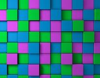 Beschaffenheit der Farbe 3D Lizenzfreie Stockfotografie