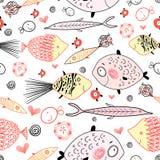 Beschaffenheit der Fischgeliebter vektor abbildung
