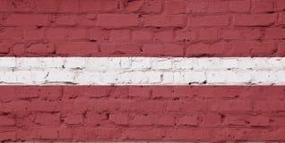 Beschaffenheit der Flagge von Lettland stockfotos