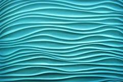 Beschaffenheit in der Form von cyan-blauen Sanddünen Lizenzfreies Stockbild