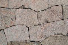 Beschaffenheit der Granitwand Stockfotografie
