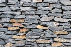 Beschaffenheit der grauen Felsenwand Lizenzfreie Stockbilder
