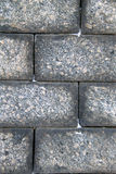 Beschaffenheit der großen Blocksteinwand Lizenzfreie Stockfotografie
