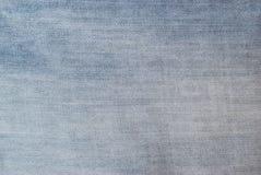 Beschaffenheit der hellblauen Jeans Stockbild