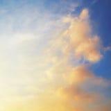 Beschaffenheit der Himmel Stockfoto