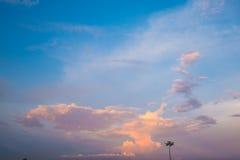 Beschaffenheit der Himmel Lizenzfreie Stockfotografie