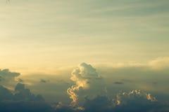 Beschaffenheit der Himmel Lizenzfreies Stockbild