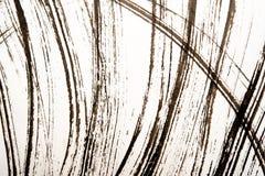 Beschaffenheit der japanischen Kalligraphie und des wei?en Farbsprays stockbilder