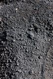 Beschaffenheit der Kohle stockfoto