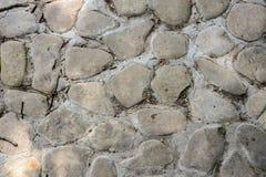 Beschaffenheit der Maurerarbeitsteinwand, nahtloses Muster Stockbild