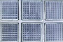 Beschaffenheit der quadratischen Glasblöcke/luxfery Lizenzfreie Stockfotos