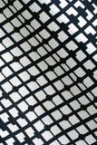 Beschaffenheit der Schwarzweiss-Mode druckt Muster mit Geometri Lizenzfreie Stockfotos