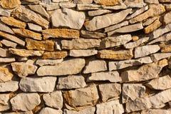 Beschaffenheit der Steine Stockbild