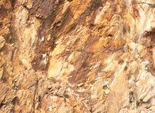Beschaffenheit der Steinwand. Stockbild