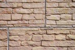 Beschaffenheit der Steinwand Stockbild
