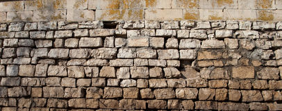 Beschaffenheit der Steinwand Lizenzfreie Stockfotos