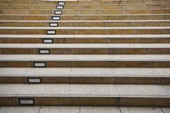 Beschaffenheit der Treppe Stockbilder