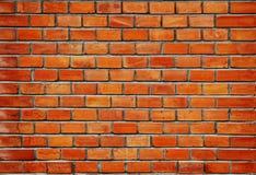 Beschaffenheit der Wand von den roten Ziegelsteinen Lizenzfreie Stockbilder