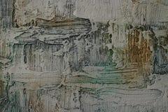 Beschaffenheit des Ölgemäldes, Autor, der Roman Nogin malt vektor abbildung