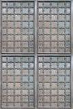 Beschaffenheit des alten Eisentors mit Dekorelementen lizenzfreie stockfotografie