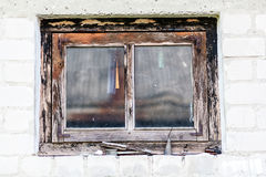 Beschaffenheit des alten Fensters Lizenzfreie Stockfotografie