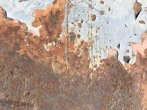 Beschaffenheit des alten Metalls Stockbild