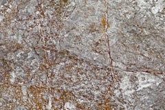 Beschaffenheit des alten Natursteinabschlusses oben stockbild
