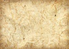 Beschaffenheit des alten Papiers mit Sägemehl Stockfoto