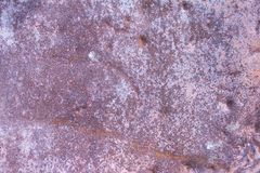 Beschaffenheit des alten rostigen Metalls, alte Eisenwand Stockfoto