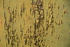 Beschaffenheit des alten rostigen Metalls gemalt entziehen Sie Hintergrund Altes Metall lizenzfreies stockbild