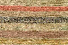 Beschaffenheit des alten Teppichs Lizenzfreie Stockbilder