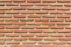 Beschaffenheit des alten Wand-Hintergrundes des roten Backsteins Lizenzfreies Stockbild