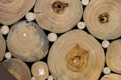 Beschaffenheit des Baumstumpfs Stockfotografie