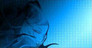 Beschaffenheit des binären Codes Lizenzfreie Stockfotos