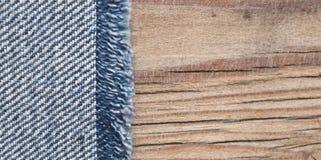 Beschaffenheit des blauen Baumwollstoffs Lizenzfreie Stockfotografie