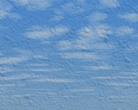 Beschaffenheit des blauen Himmels Lizenzfreie Stockbilder