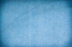 Beschaffenheit des blauen Papiers Stockbild