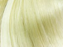 Beschaffenheit des blonden Haares Lizenzfreies Stockfoto