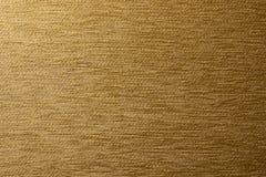Beschaffenheit des braunen Gewebes mit horizontalen Streifen lizenzfreies stockfoto