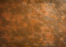 Beschaffenheit des braunen ledernen Hintergrundes Oberfläche des Materials gemacht von der Tierhaut lizenzfreie stockfotos
