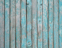 Beschaffenheit des Bretterzauns gemalt mit grüner Farbe Lizenzfreies Stockbild