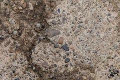 Beschaffenheit des erweiterten Lehms und der Kiesel Stockbilder