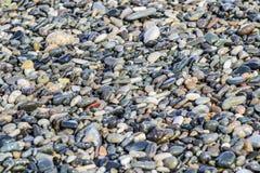 Beschaffenheit des Felsens, Stein auf ein Strand Lizenzfreie Stockfotografie